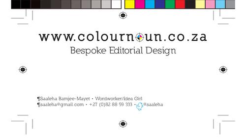 Business cards – ColourNoun