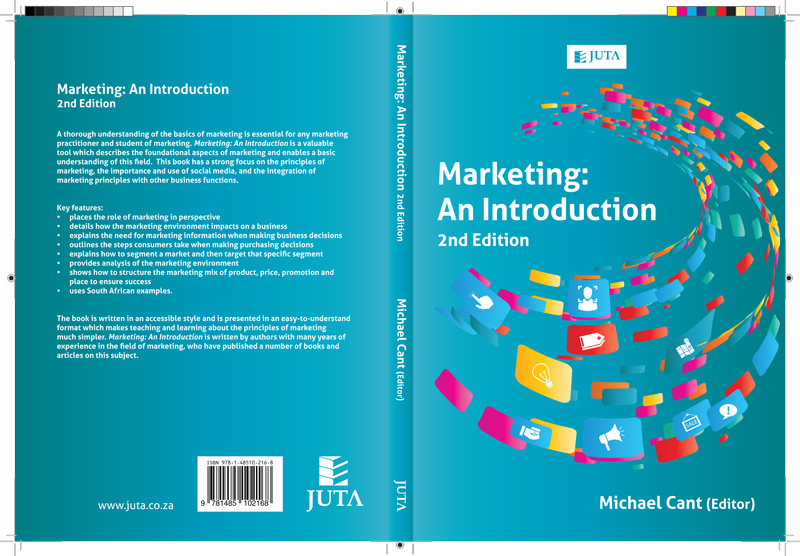Textbook Cover Design: Marketing, An Introduction, 2nd Edition
