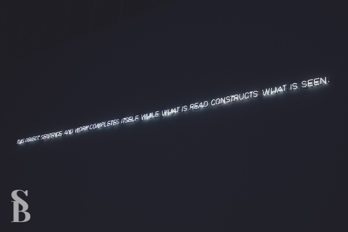 Joseph Kosuth, Museum of Fine Arts, Boston