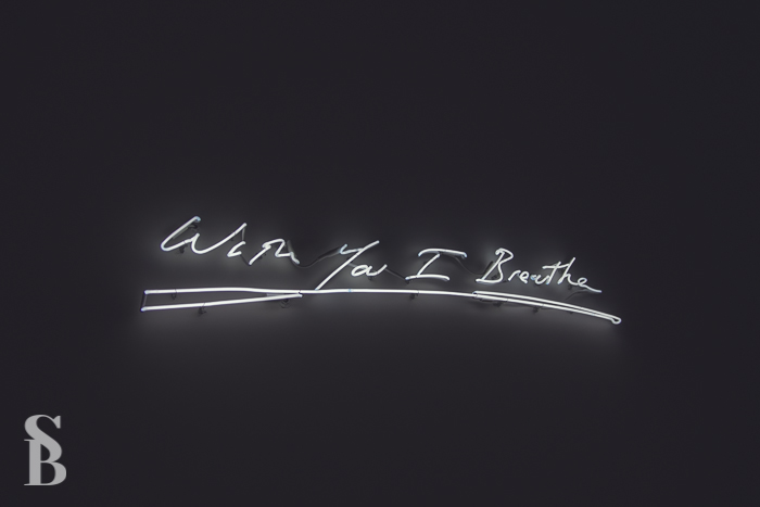 With You I Breathe, Tracy Emin (2010)