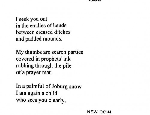 The Sunday Poem: October 25, 2015